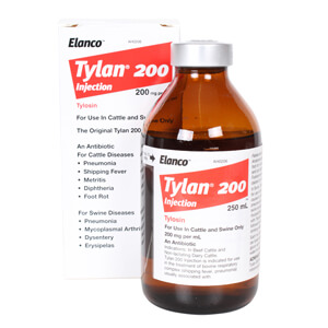 Tylan 200 Injection, 200 mg x 250 mL