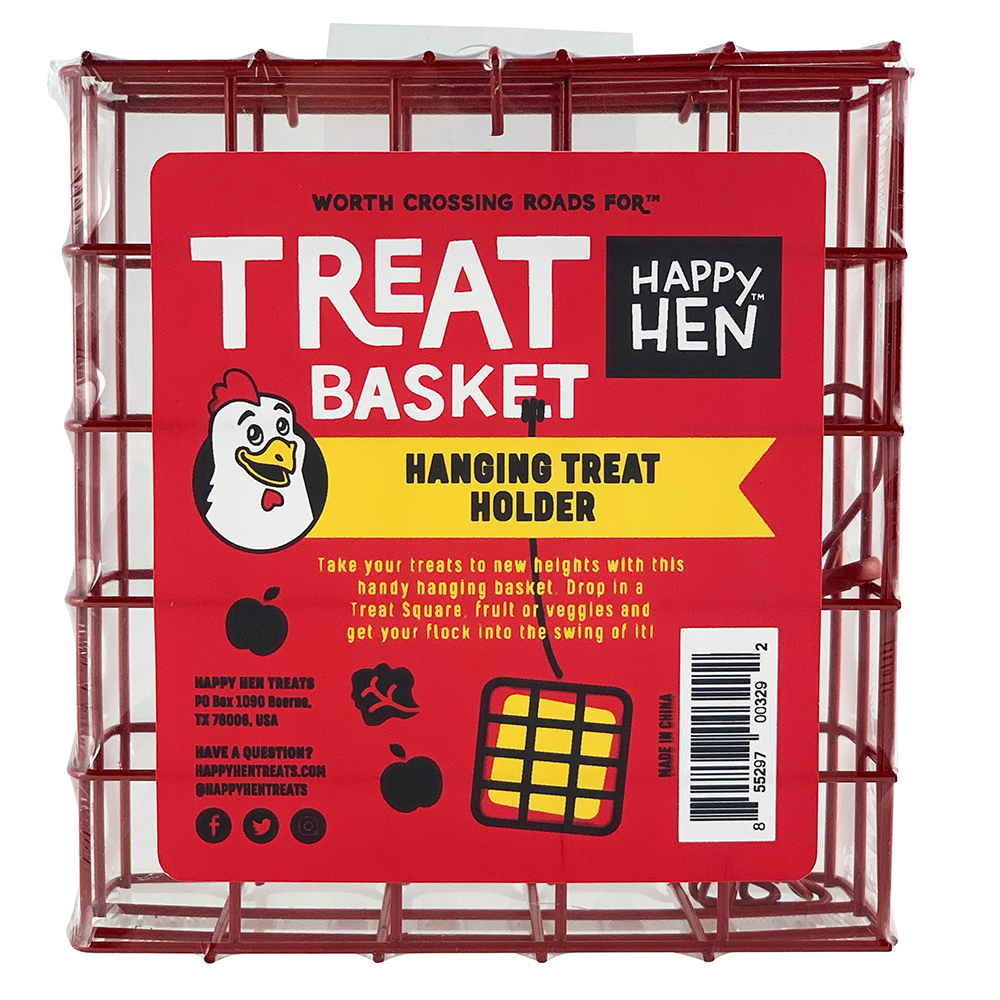 Happy Hen Treat Basket