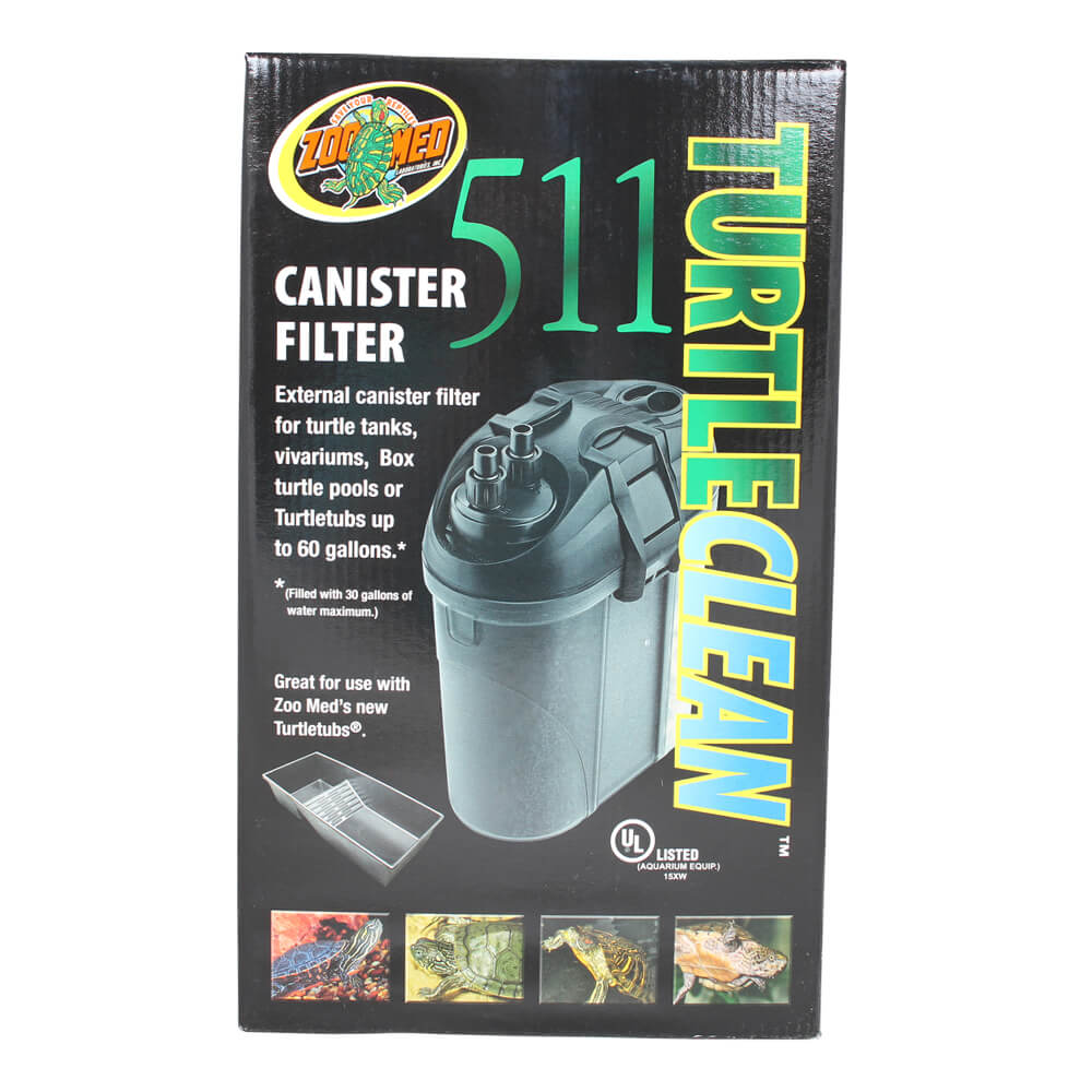 Zoo Med TurtleClean 511 Canister Filter, 60 gal