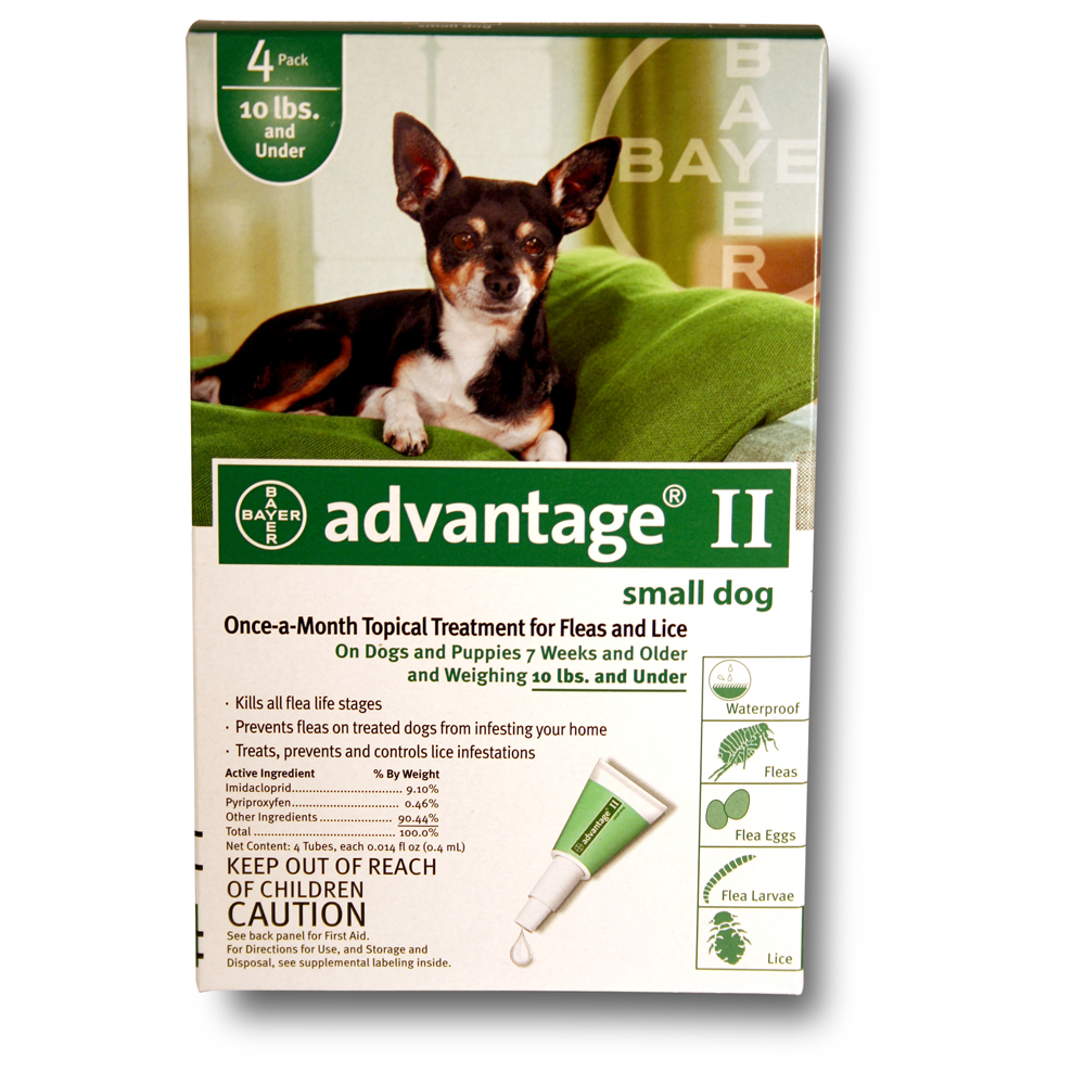 Advantage Ii For Small Dogs Dosage