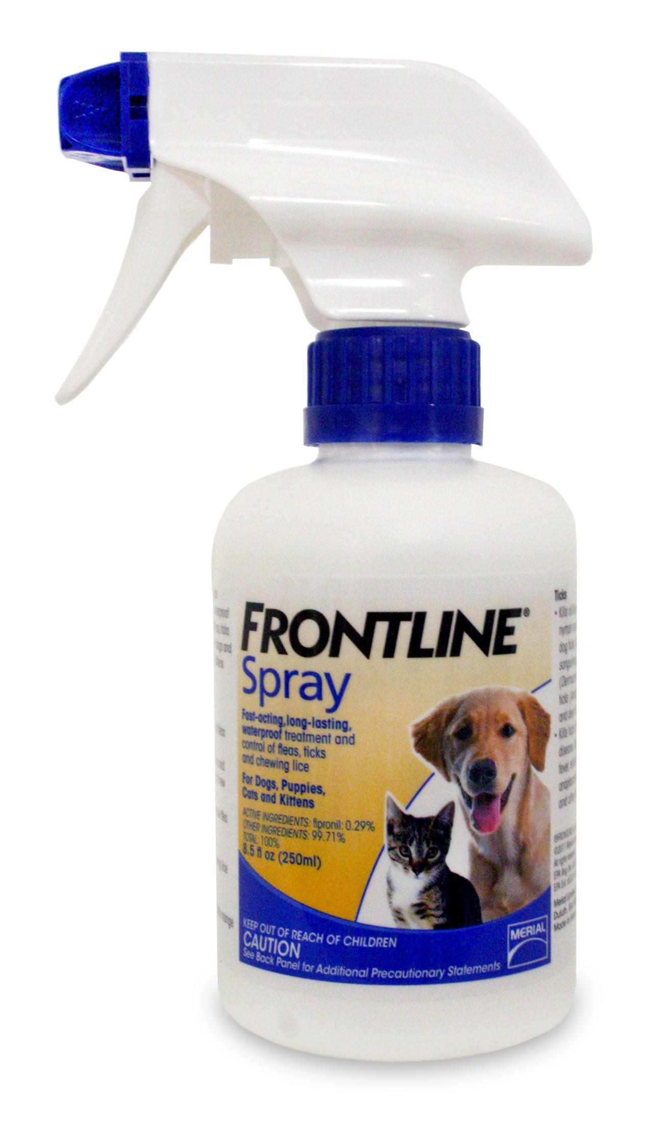 Frontline Spray Dog Flea Spray Lambert Vet Supply