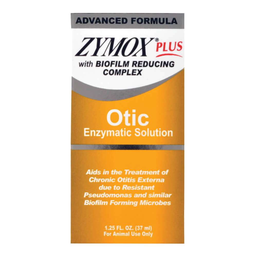 Zymox Plus Otic Advanced Formula With Biofilm Reducing
