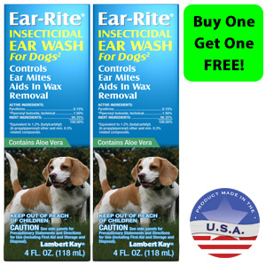 Ear-Rite Insecticidal Ear Wash For Dogs