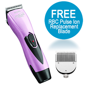 Andis ProClip Pulse Ion Clipper w/ FREE Trimmer, Pink