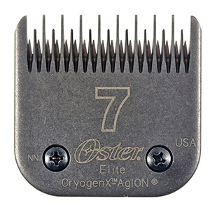 Oster Elite Cryogen-X #7 Skip Tooth Blade