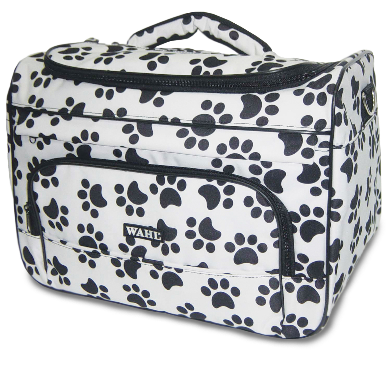 wahl paw print travel bag