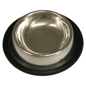 Non-Tip Stainless Steel Bowl for Cats, 8 oz