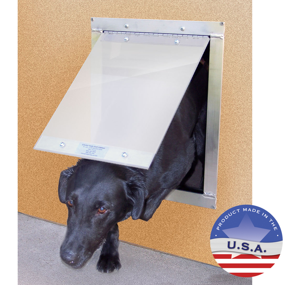 Gun Dog Easy Pet Door Plexi Glass Dog Door Lambert Vet Supply