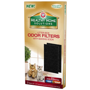 Arm & Hammer Healthy Home Solutions Odor Filters with Baking Soda