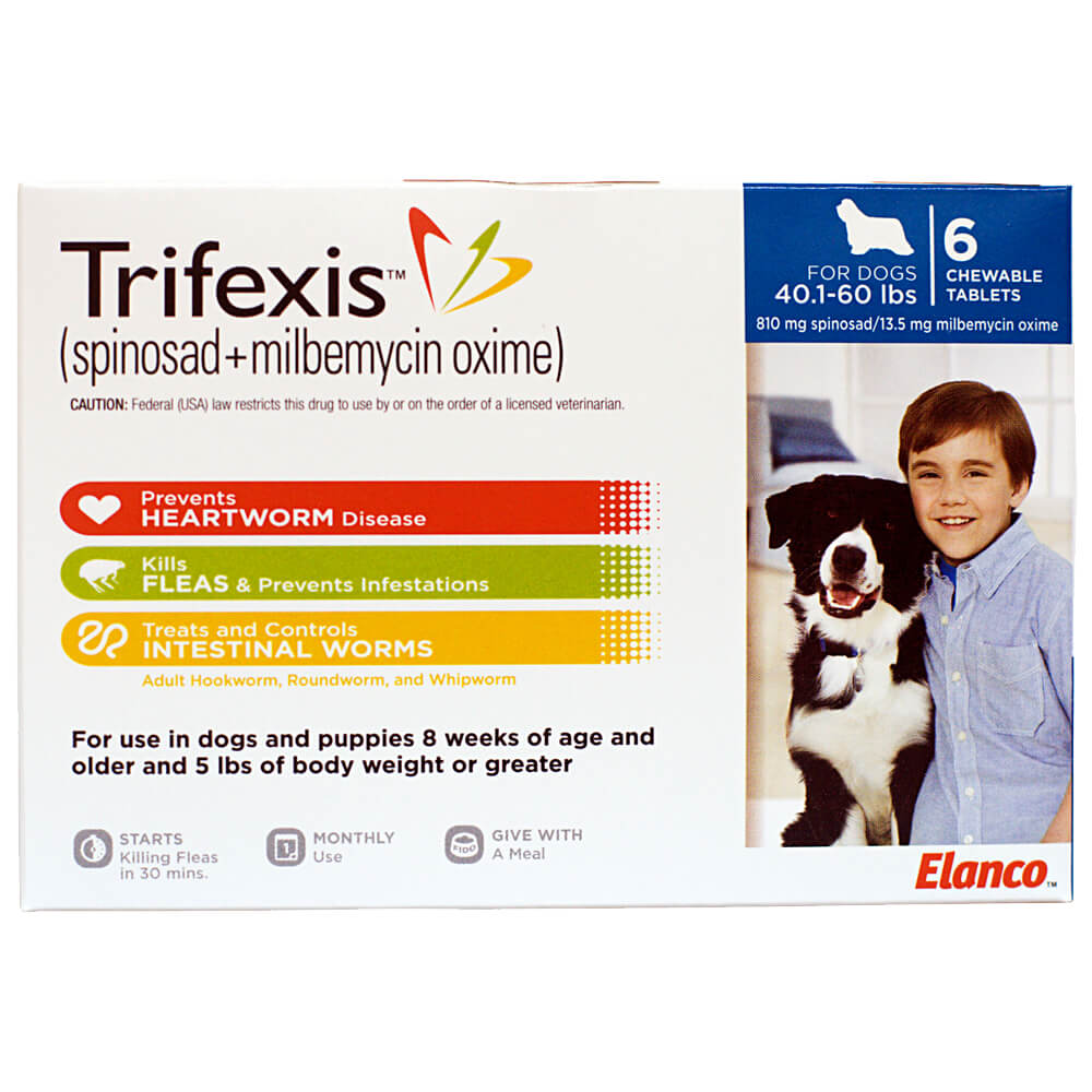 Trifexis Chewable Tablets For Dogs Lambert Vet Supply