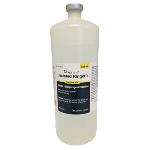 Rx, Lactated Ringer, 1000 mL