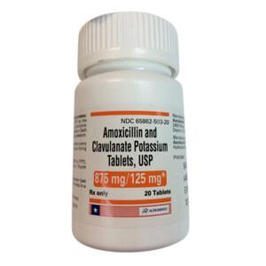 Amoxicillin clavulante
