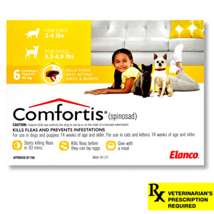 Comfortis Rx, Yellow