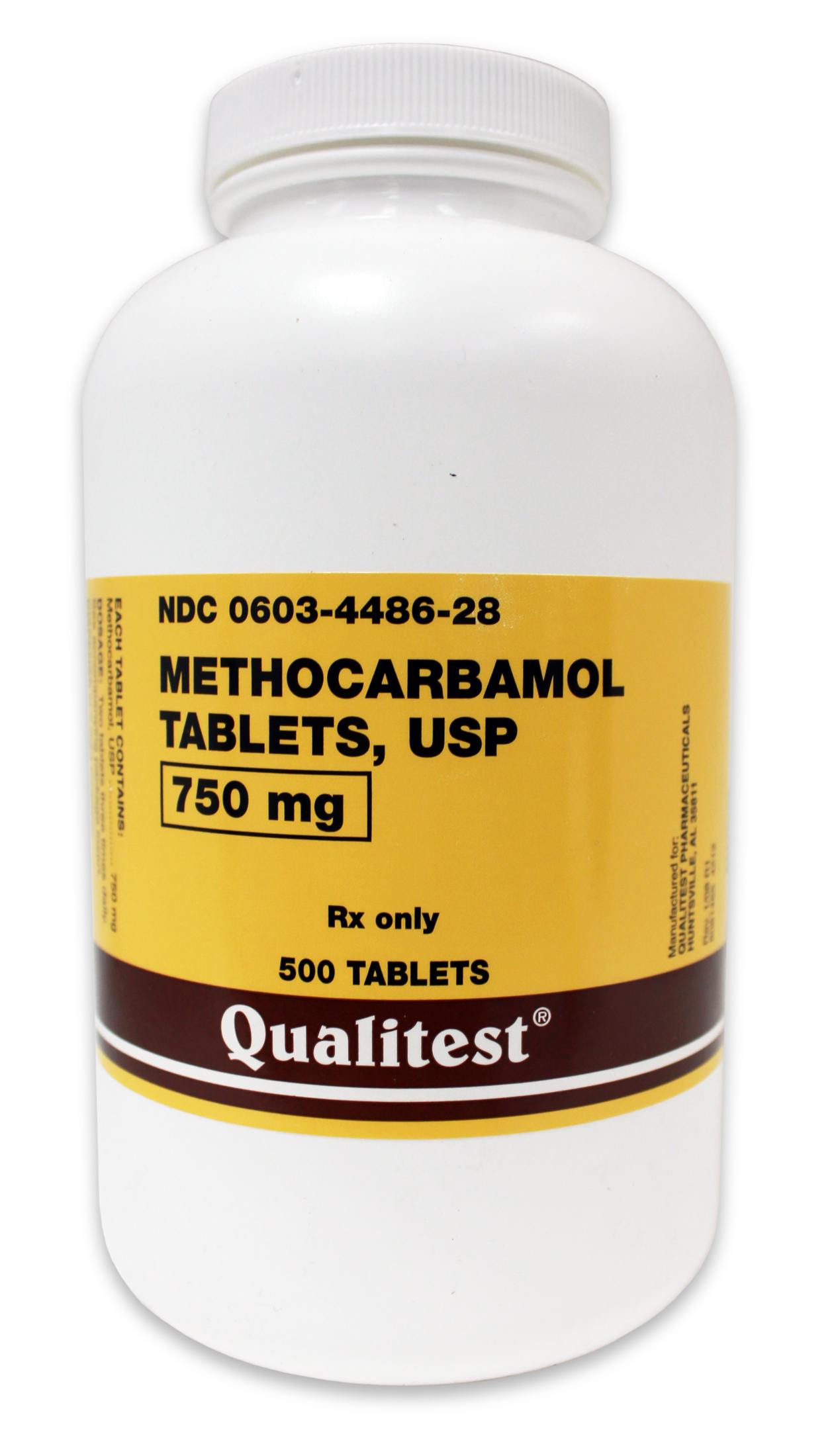 Robaxin 500 Mg Tablet