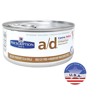 Hill's Prescription Diet a/d Canine/Feline Critical Care
