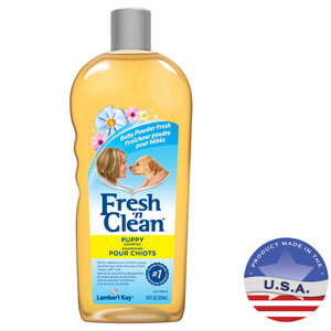 Fresh 'n Clean Puppy Shampoo, Baby Powder Fresh, 18 fl oz