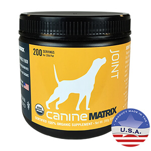 Canine Matrix Joint Supplement for Dogs