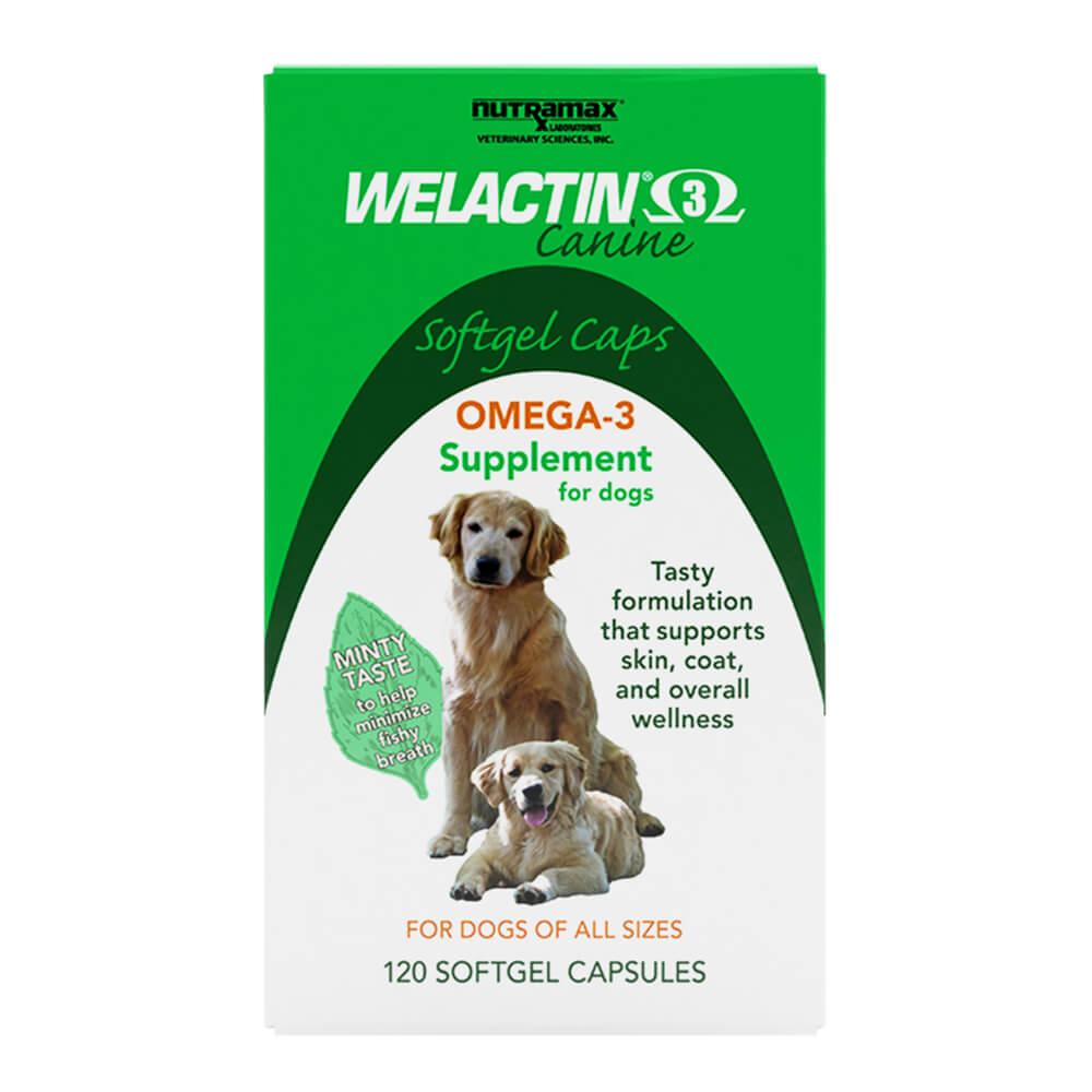 Welactin Canine Softgels 120 Count