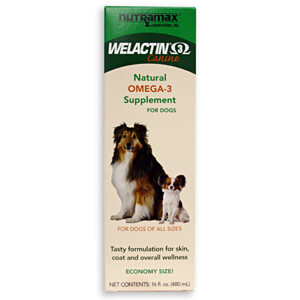 Welactin Canine, Natural Omega-3 Supplement, 16 fluid ounces