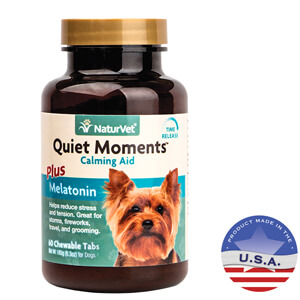 Quiet Moments Calming Aid Plus Melatonin for Dogs