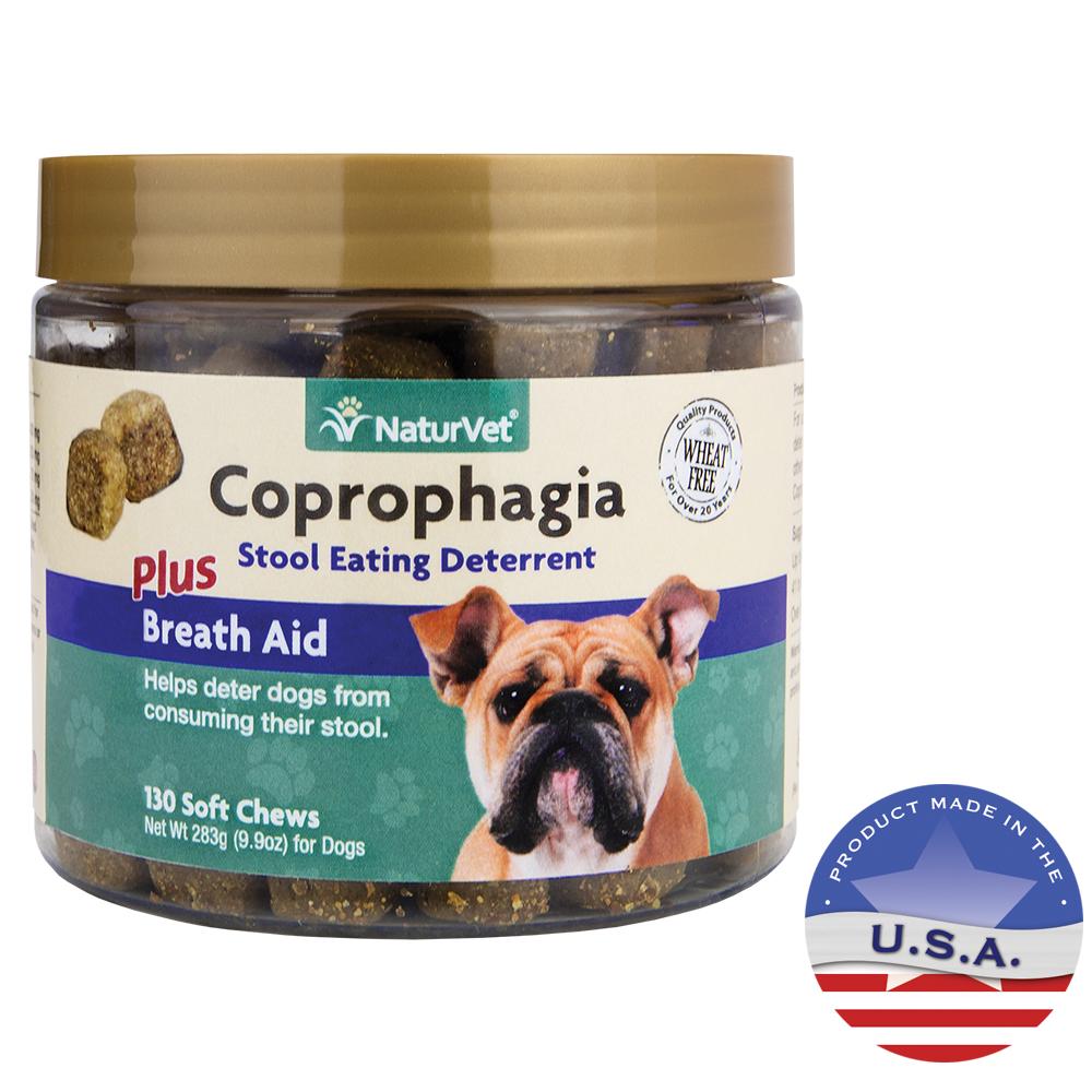 Naturvet Coprophagia Deterrent Plus Breath Aid For Dogs