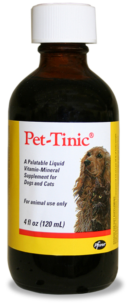 Pet Tinic Liquid Vitamin Mineral Supplement For Dogs And Cats