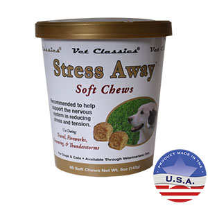 Stress Away Soft Chews for Dogs and Cats
