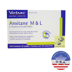 Anxitane All Natural Dog Anxiety Treatment Lambert Vet