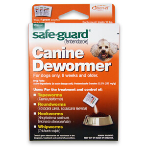 Safe-Guard Canine Dewormer, 3 (1 Grams Each)