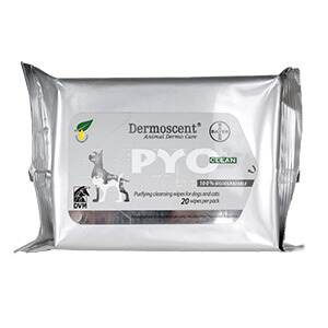 Dermoscent Pyoclean Wipes for Dogs and Cats