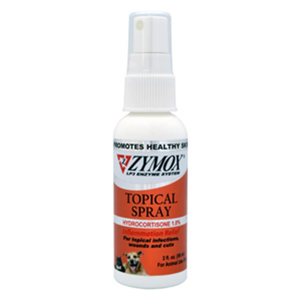 Zymox Topical Spray With Hydrocortisone 2 Oz