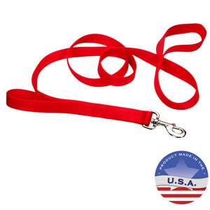 Loop 2 Double Handle Nylon Leash for Dogs