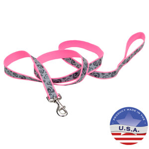 Lazer Brite Reflective Leash for Dogs