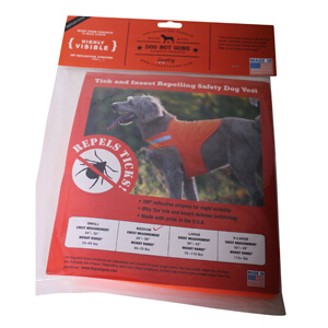 No Fly Zone Safety Vest Blaze Orange Medium