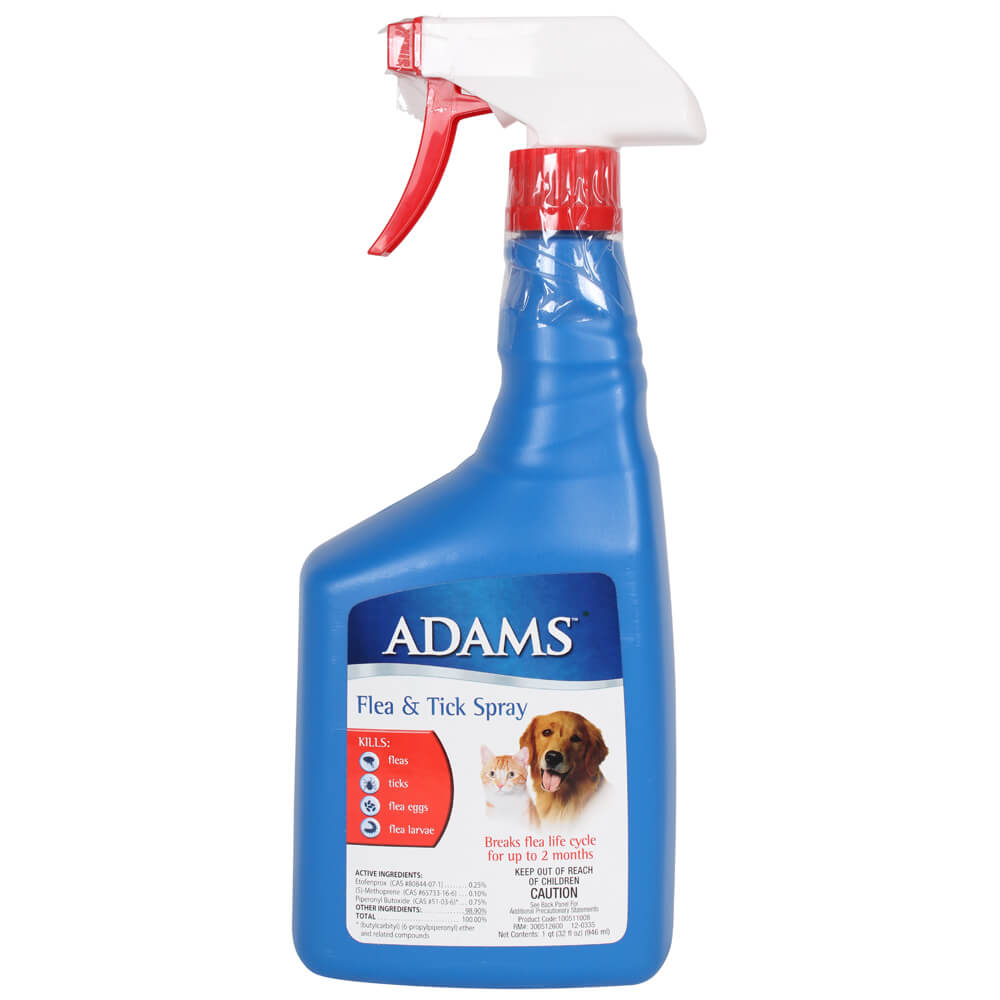 Adams Flea Amp Tick Spray 32 Oz