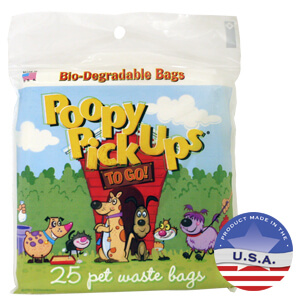 Poopy Pickups To Go!, 25 Count Bag