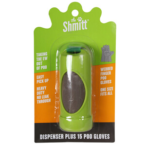 Shmitt Dog Waste Gloves & Refills