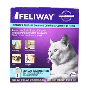 Feliway Starter Kit, Diffuser with 48 ml Refill