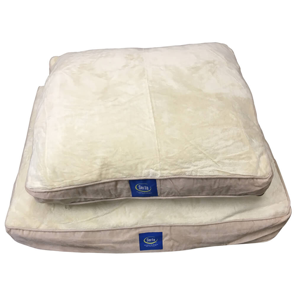 Serta Small Memory Foam Dog Bed