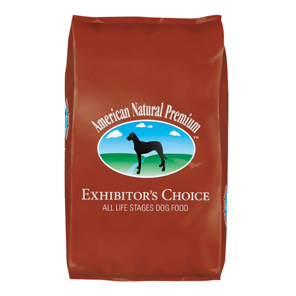 American natural premium dog food exhibitor s choice 4 lbs for American choice