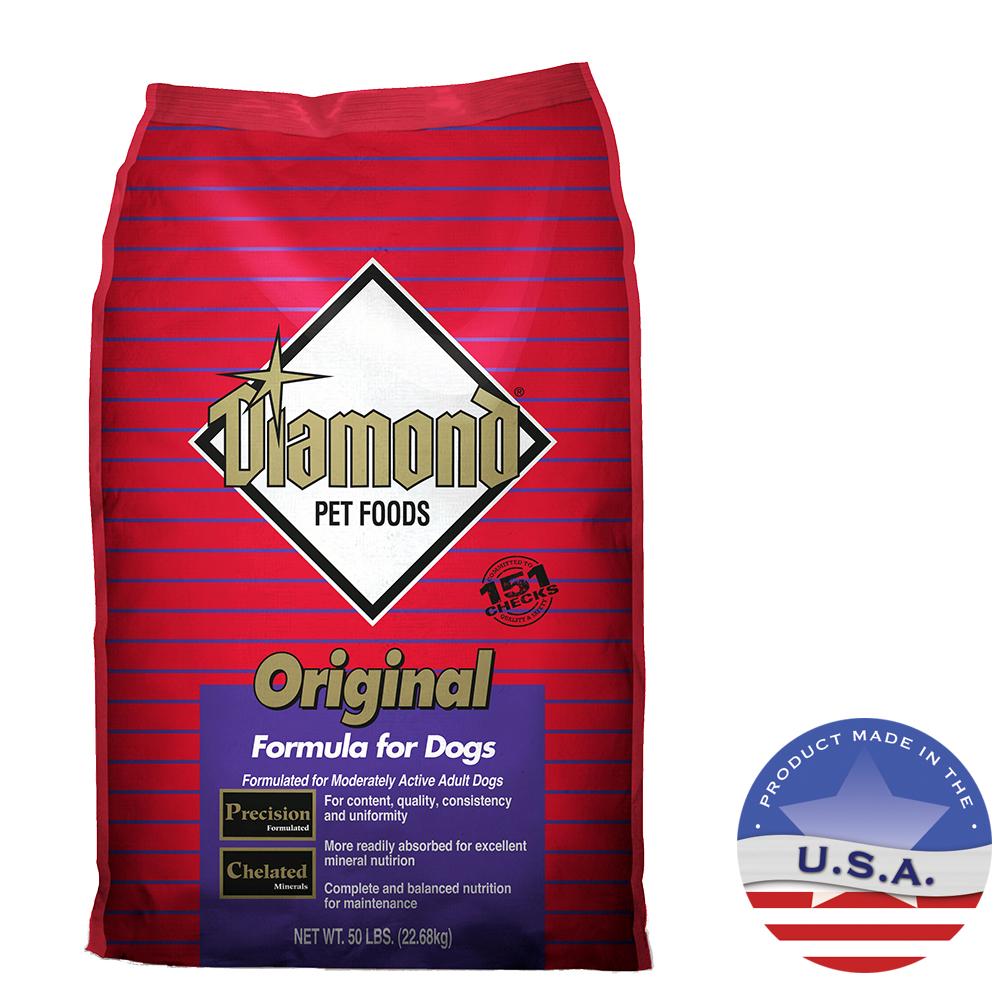 Puppy Diamond Dog Food >> Diamond Original, Dry Dog Food | Lambert Vet Supply