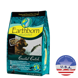 Earthborn Holistic Coastal Catch Natural Dog Food, 5 lbs