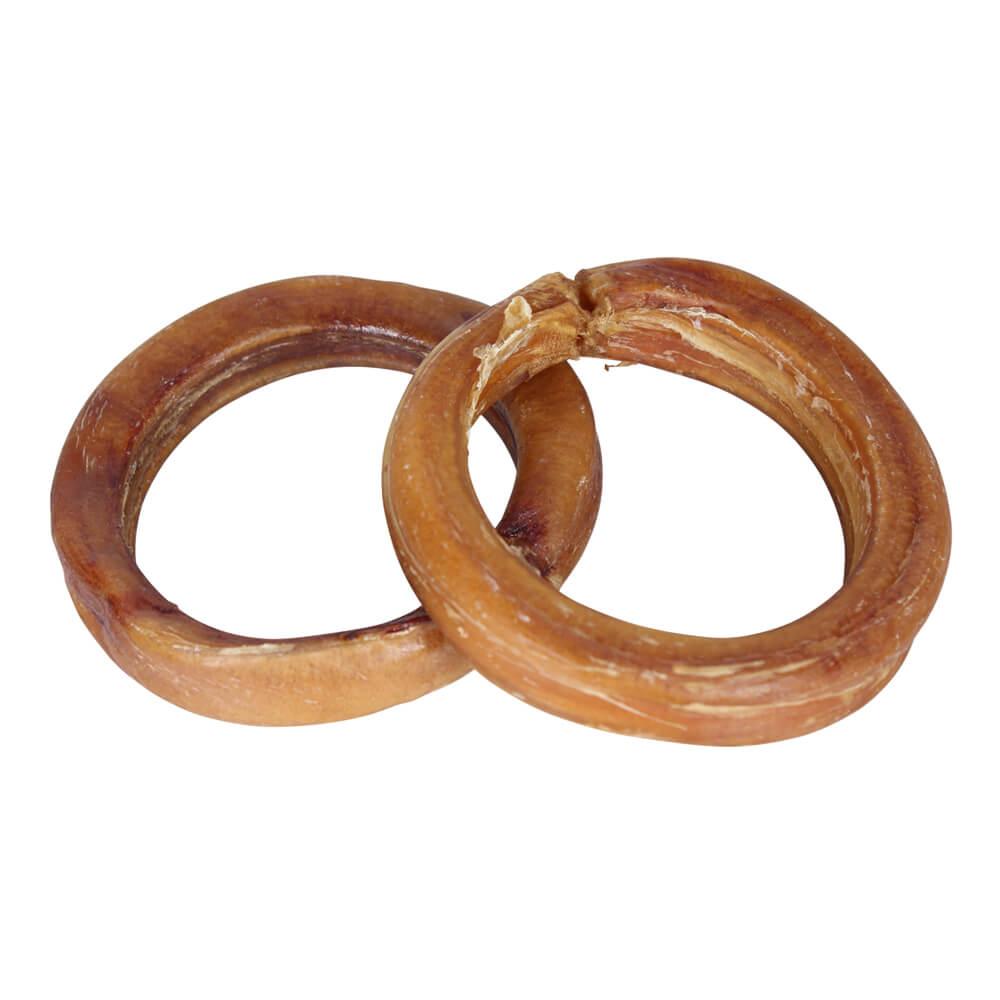 bully stick rings 2 pk low odor. Black Bedroom Furniture Sets. Home Design Ideas