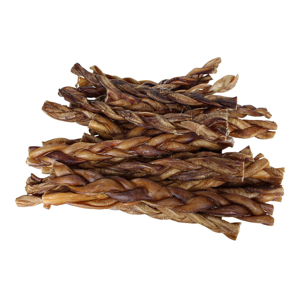 braided bully sticks for dogs 12 premium all natural pizzle chews 25 pk. Black Bedroom Furniture Sets. Home Design Ideas