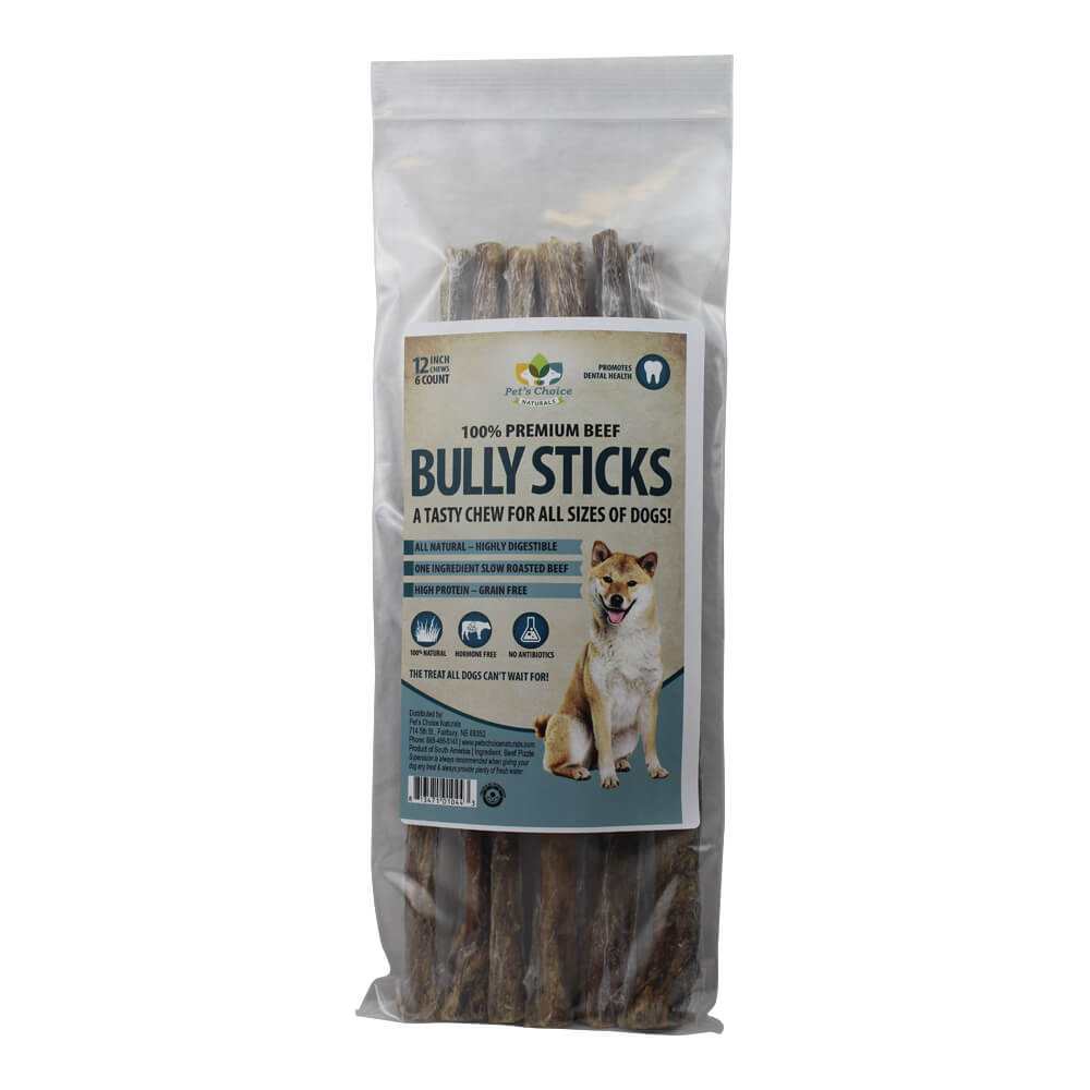 bully sticks for dogs all natural dog treats lambert vet supply. Black Bedroom Furniture Sets. Home Design Ideas