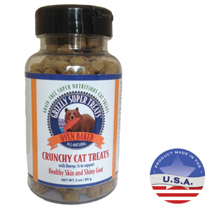 Grizzly Super Treats Crunchy Cat Treats