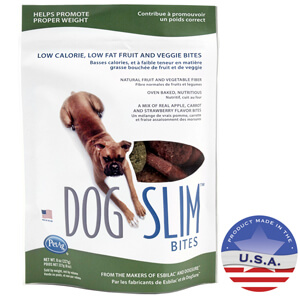 DogSlim Fruit & Veggie Nutritional Bites for Dogs 8oz
