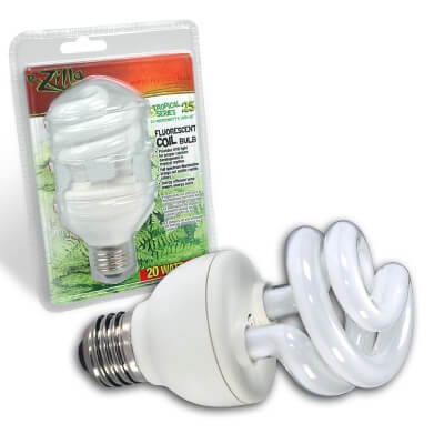 Tropical Series Coil Bulb 20W Fits En20519