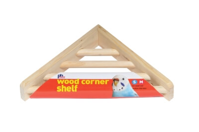 Corner Ladder Platform Wood
