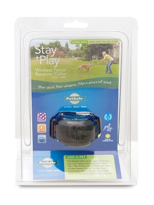 Stay+Play Wireless Fence Receiver Collar